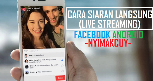 Siaran Langung (Live Streaming) Facebook di Android