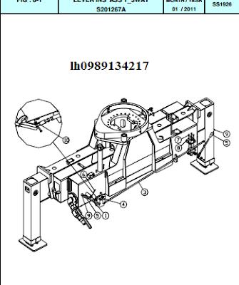 3.Hệ thống quay toa cẩu thủy lực Dong Yang SS1924-SS1926