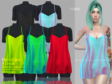 R Dress for The Sims 4
