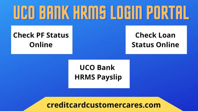 UCO Bank HRMS Portal