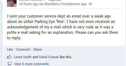 Parking Prankster How To Get A Parkingeye Charge Notice Cancelled