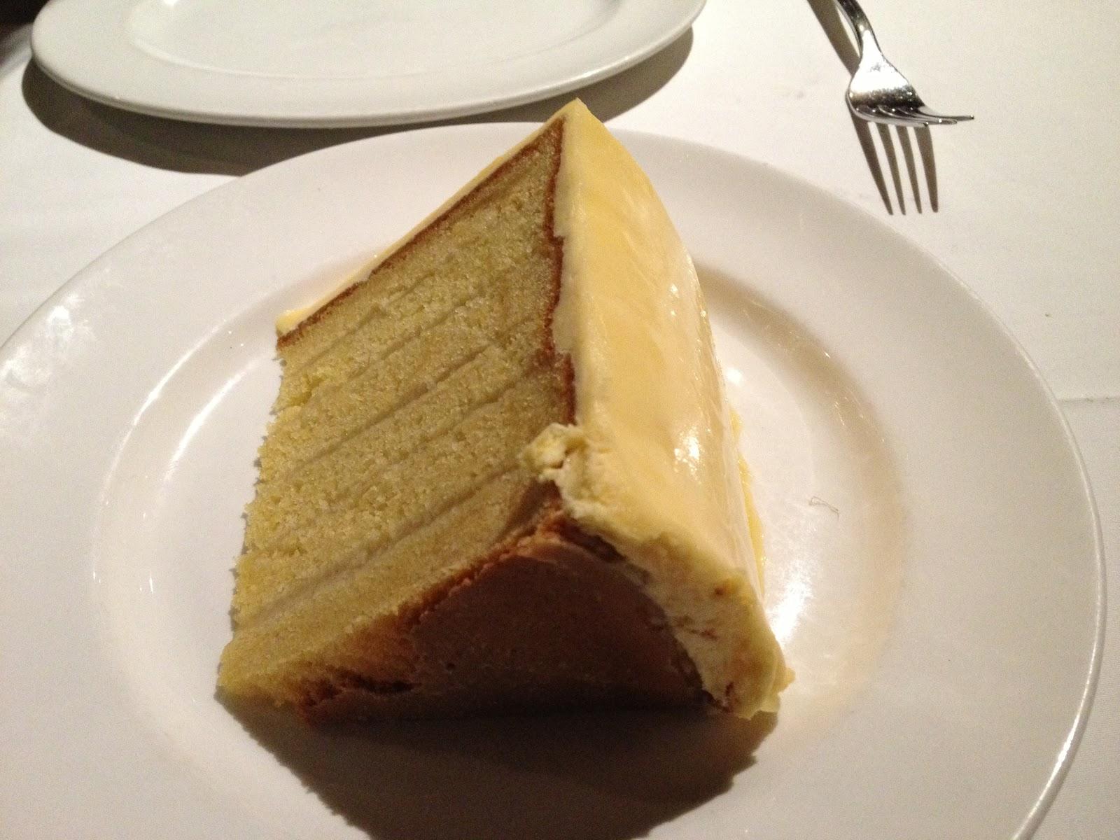 Del Friscos Lemon Cake Order