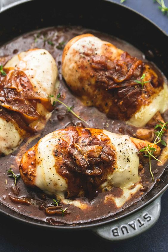 FRENCH ONION CHICKEN #recipes #healthychicken #chickenrecipes #healthychickenrecipes #food #foodporn #healthy #yummy #instafood #foodie #delicious #dinner #breakfast #dessert #lunch #vegan #cake #eatclean #homemade #diet #healthyfood #cleaneating #foodstagram