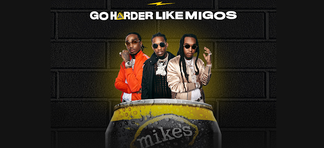 Here are some instructions about how to enter the Mikes Harder Migos Sweepstakes for your chance to win some really great prizes!