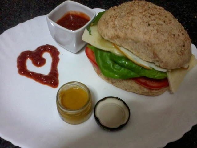 Receita de pão de hambúrguer integral