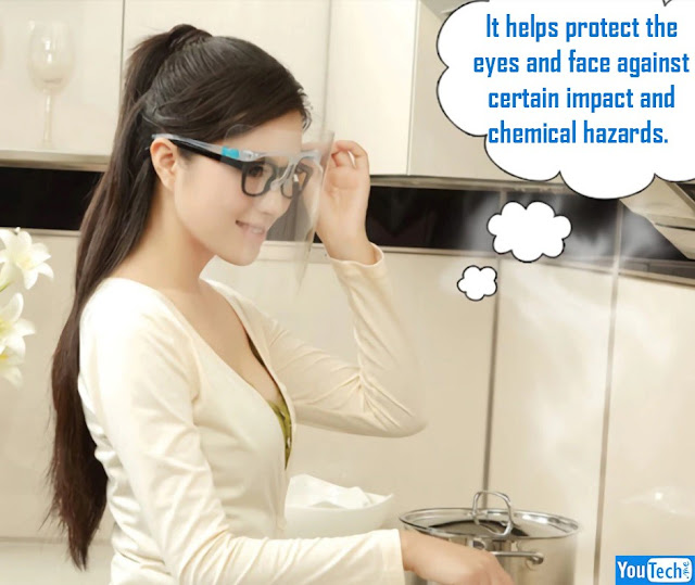 Anti-Fog Faceshield Safety Protection
