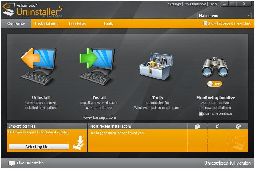 Download Ashampoo UnInstaller Crack