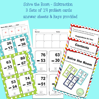 https://www.teacherspayteachers.com/Product/Solve-the-Room-Subtraction-with-and-without-regrouping-3199836
