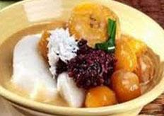 Resep praktis (mudah) bubur kampiun spesial (istimewa) khas padang enak, gurih, sedap, nikmat lezat
