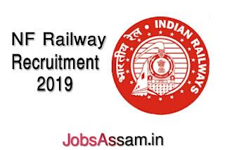 NF Railway Recruitment 2019: PGT, TGT Teacher (26 posts)