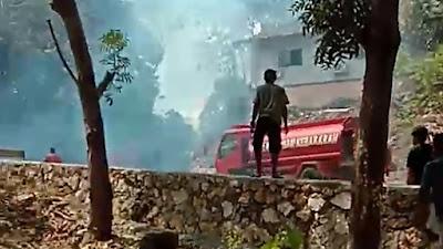 Wisata Tanjung Pallette Hampir Terbakar Gara-gara Sampah