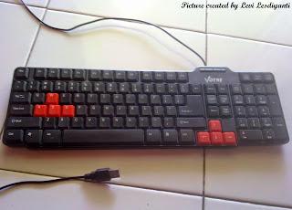 memperbaiki keyboard komputer