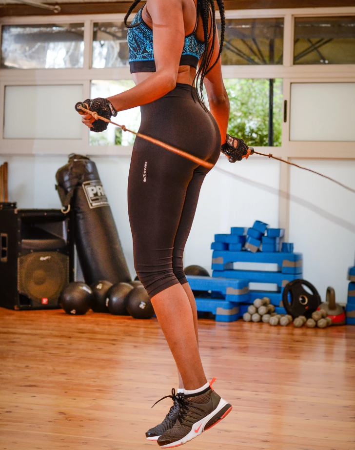 Physically Active (Jumping Rope): Guide to get started with our 1-minute jump rope routine.