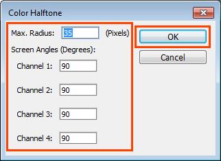 Cara Membuat Halftone