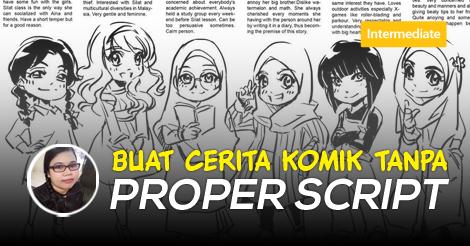 Cerita Komik Tanpa Script