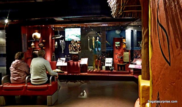 Acervo dos povos da África Ocidental no Museu da Escravidão de Liverpool