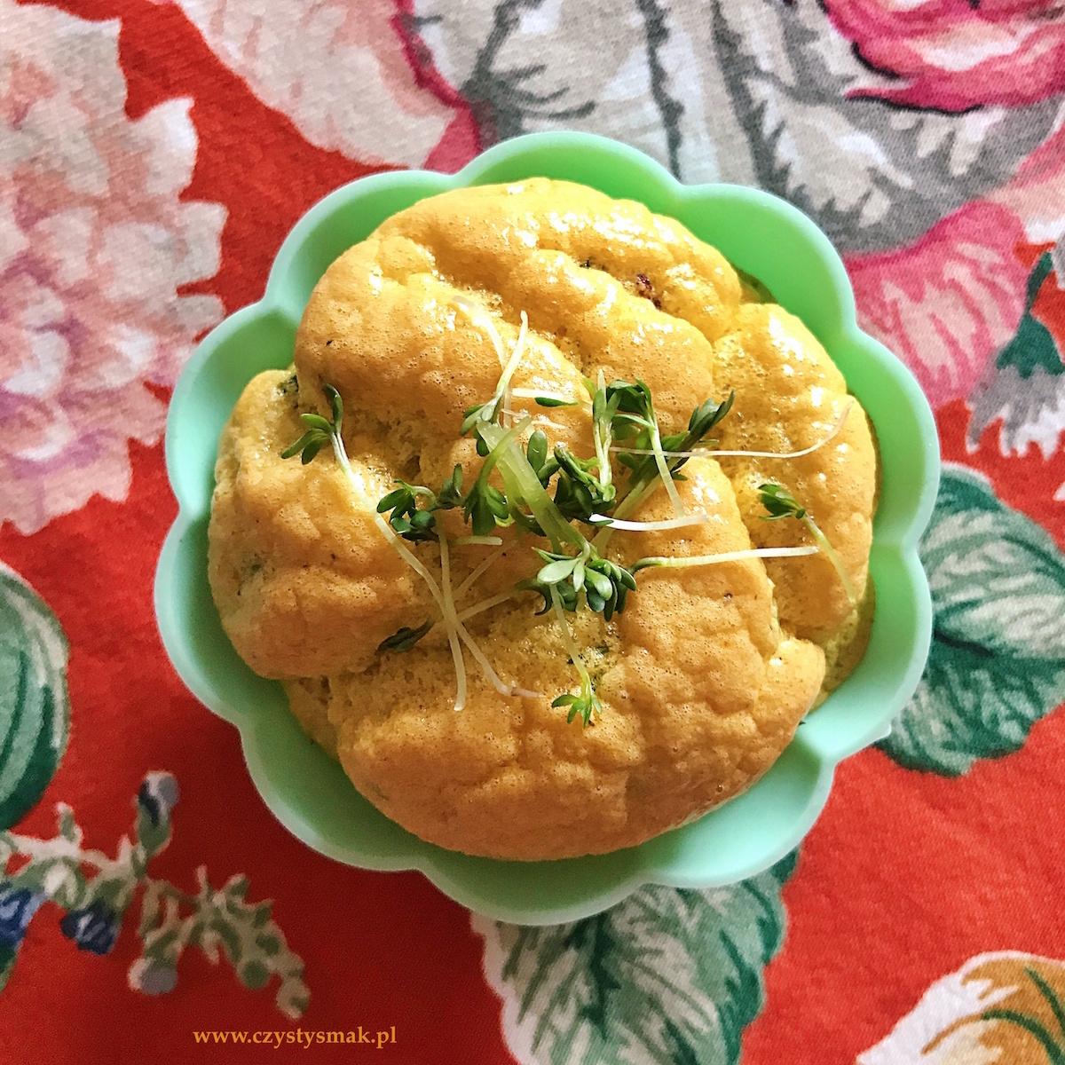 Wytrawne muffinki jajeczne