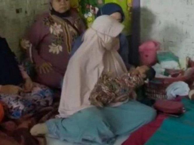 Una mujer afirma que una ráfaga de viento la dejó embarazada y la policía investiga el curioso caso