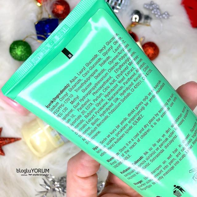 monde green colour protect renk koruyucu şampuan içerik