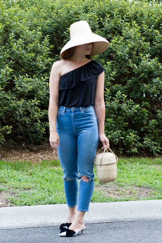 Cute summer outfits- one shoulder tops