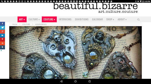 Beautiful Bizarre Magazine article on ME!!