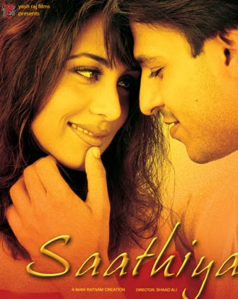 Poster Of Hindi Movie Saathiya 2002 Full HD Movie Free Download 720P Watch Online