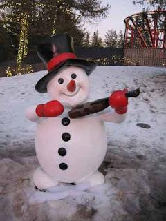 Snowman Canada's Wonderland