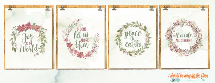 Wreath Printables