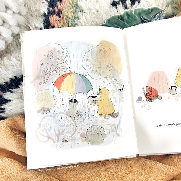 Un thé à l'eau de parapluie - Seuil jeunesse