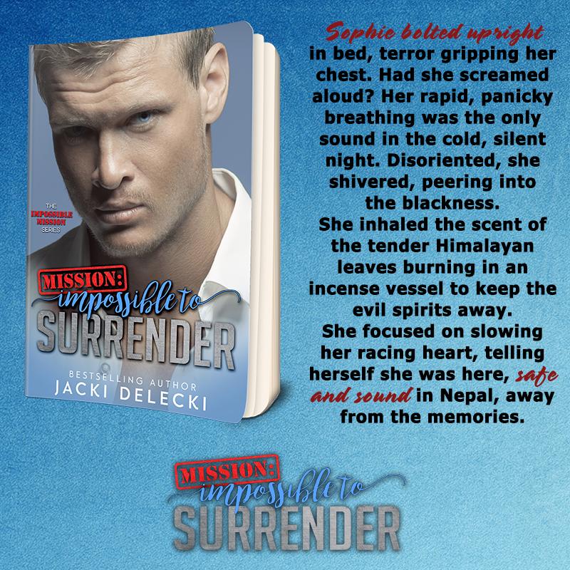 Pre-Order ~ Mission: Impossible to Surrender by Jacki Delecki