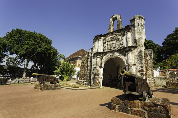 A Famosa - Famous Historical Landmark in Malaysia