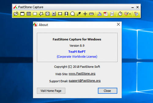 faststone capture 9.0 registration code