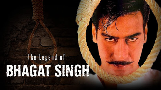 The Legend of Bhagat Singh - Best Patriotic Bollywood Movies of all Time