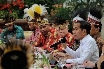 Jokowi Dipersilakan Mundur Jika Tak Mampu Buat Papua Kembali Damai
