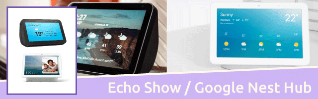 Echo Show / Google Home Hub