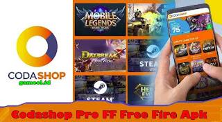 Download Codashop Pro Free Fire APK Updated Terbaru 2020