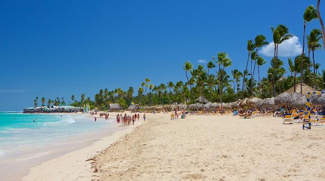 Praia Arena Gorda em Punta Cana
