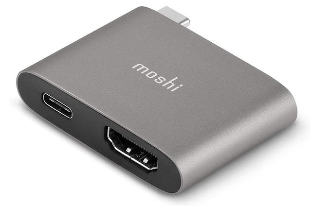 Moshi USB-C to HDMI Adapter - Best for 4K HDMI