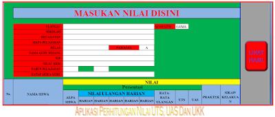 Download Aplikasi Perhitungan Nilai UTS, UAS Dan UKK Versi.5.12.15