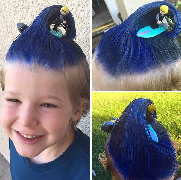 Peinados Locos Para Ninos - Peinados locos y chistosos para usar este día del niño y ser la