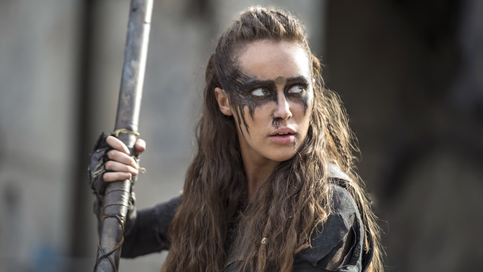Lexa, interpretada por Alycia Debnam-Carey en 'The 100'