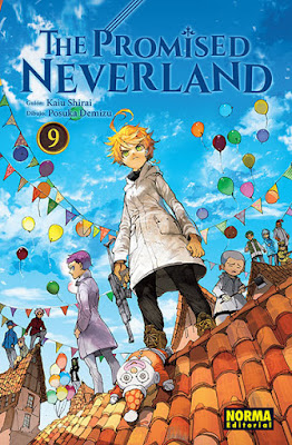Manga: Review de The Promised Neverland Vol.9 de Kaiu Shirai y Posuka Demizu - Norma Editorial