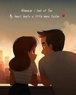 2 line romantic love shayari in english for status - theshayariquotes