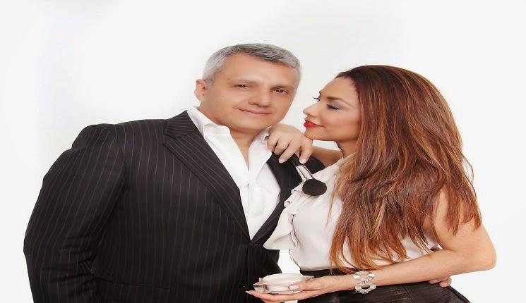 Gina Rojas y su esposo