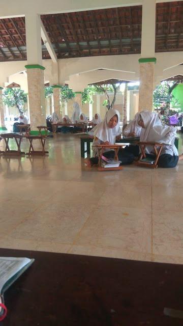 PP Al Muna Selenggarakan Pembelajaran Untuk Siswa MTsN 3 Bantul