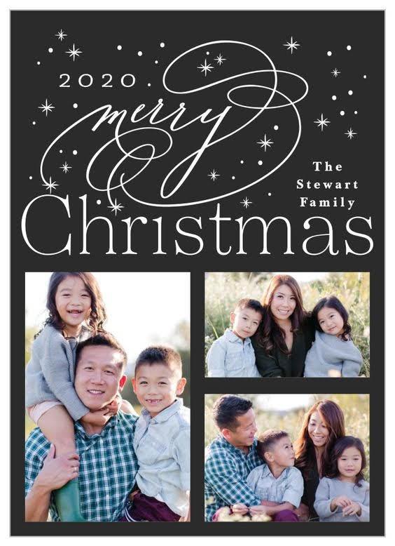 Starry Christmas Christmas Card | Basic Invite