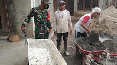 Babinsa Koramil 427-01/ Pakuanratu,Silaturahmi Dan Bersinergi Dengan Masyarakat
