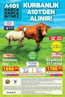 a101 katalog broşür afiş kurban kesimi ve fiyatları 2021