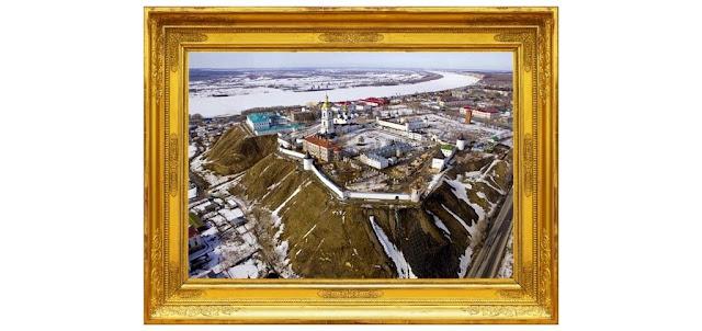 عنوان الصورة ( مبنى الكريملن في توبولسك ) | المصور الرئيس الروسي السابق (دميتري ميدفيديف)