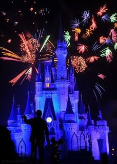 Los fuegos de Disneyland París
